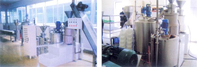 Машины для производства арахисовой пасты