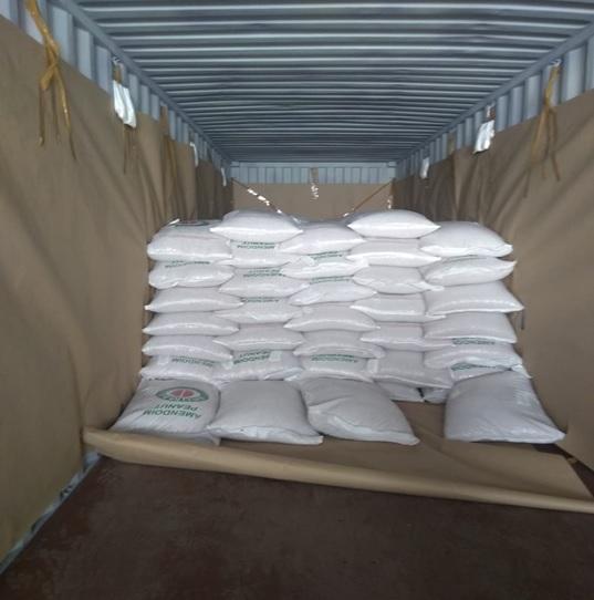 Перевозка арахиса из Бразилии