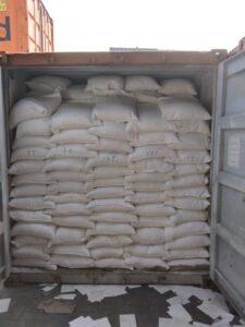 Мешки с арахисом в контейнере